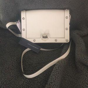 Rebecca Minkoff Leather Crossbody - Blanco